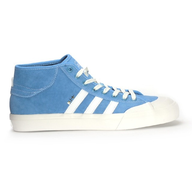 Adidas Matchcourt Mid Light Blue/ Neon White/ Gold Metallic