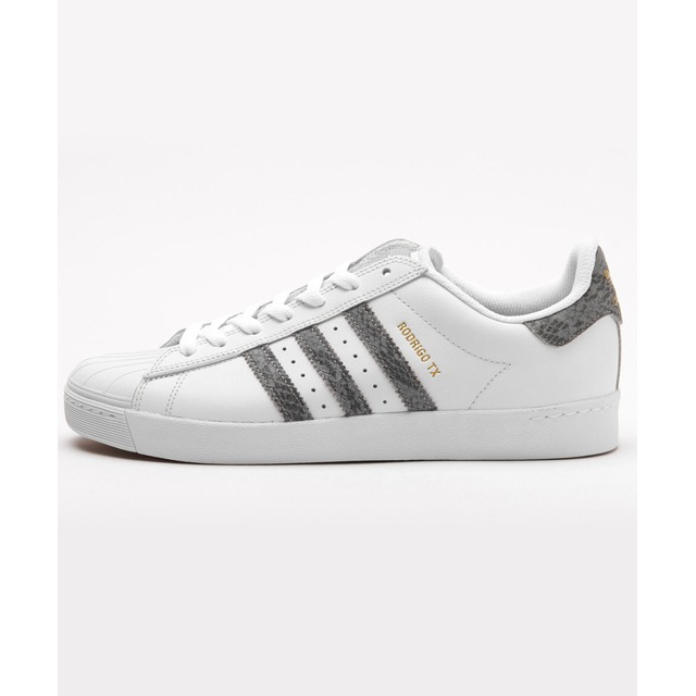 Adidas Superstar Vulc ADV Crystal White/Grey Snake
