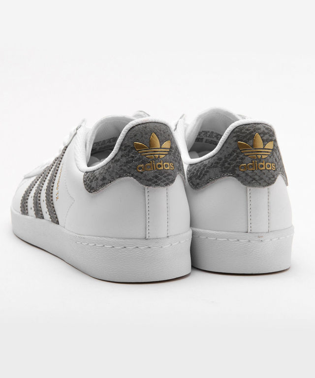 Superstar Vulc ADV Shoes Alltimers, White, Navy, Orange In Stock at