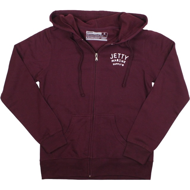 Jetty Life Anchors Aweigh Burgundy
