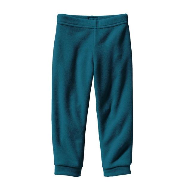 Baby Micro D® Fleece Bottoms - Deep Sea Blue