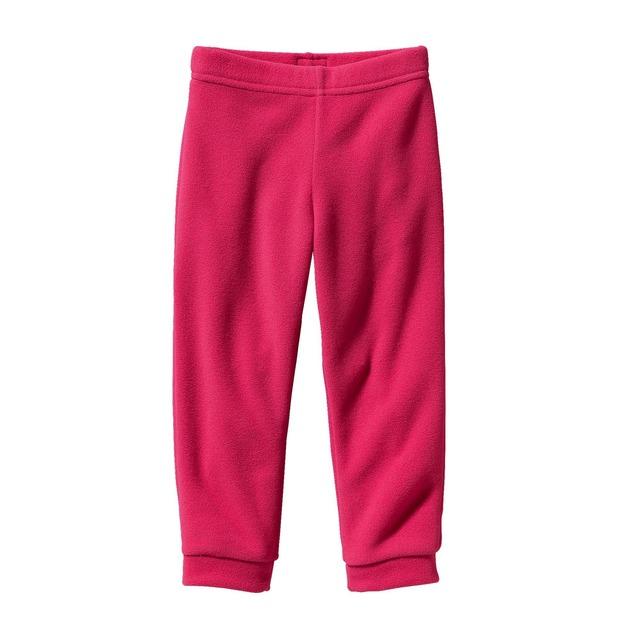 Baby Micro D® Fleece Bottoms - Magic Pink