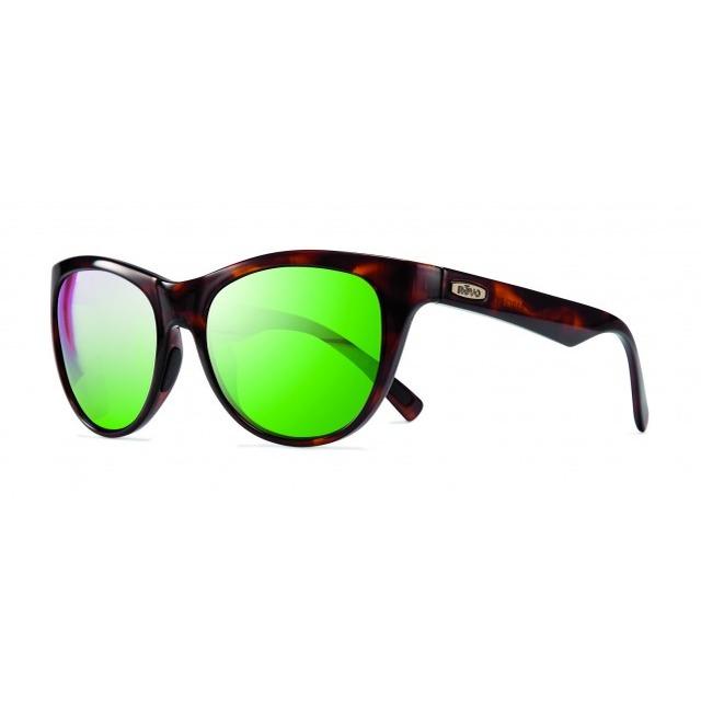 Revo Barclay Tortoise- Green Water Lens