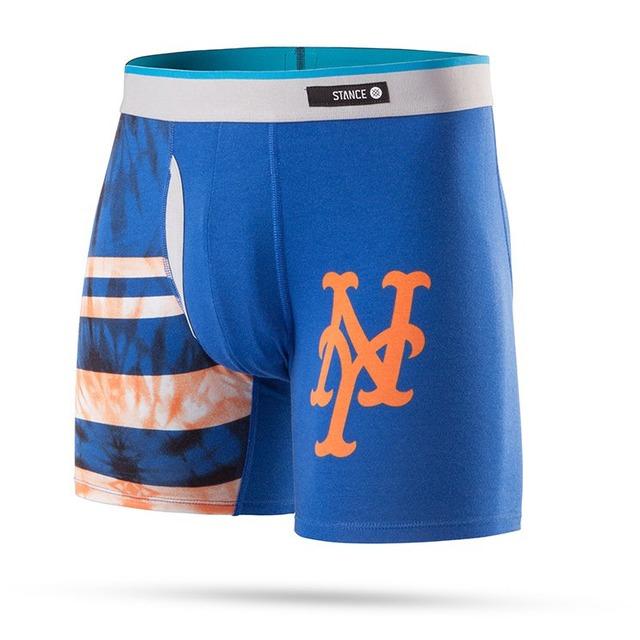 Stance Basilone Tie Dye Mets Blue