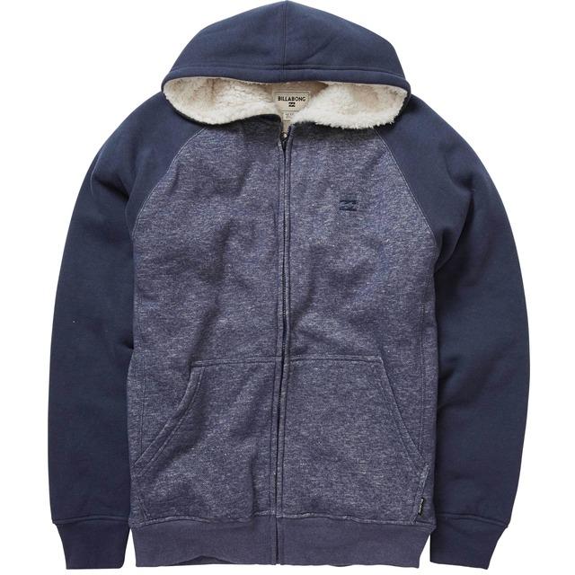 Balance Sherpa Zip Sweatshirt - Navy