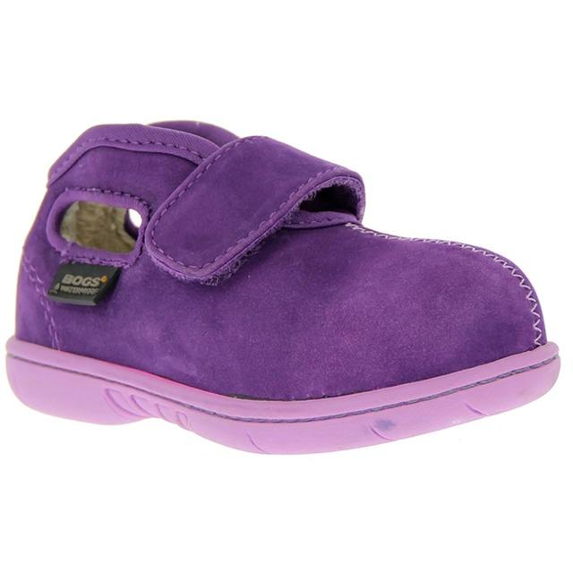 Bogs Nubuck Mid Boots Purple