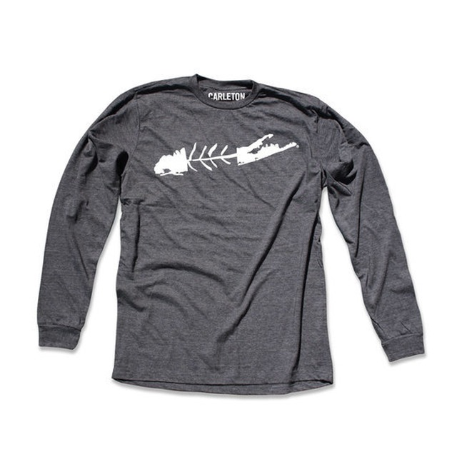 LI Fish - Charcoal Heather