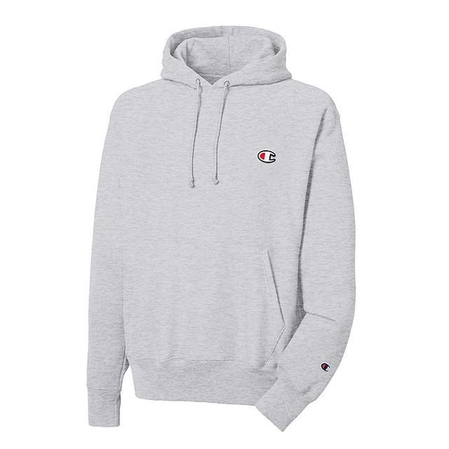 Champion Reverse Weave Hooded Oxford Grey