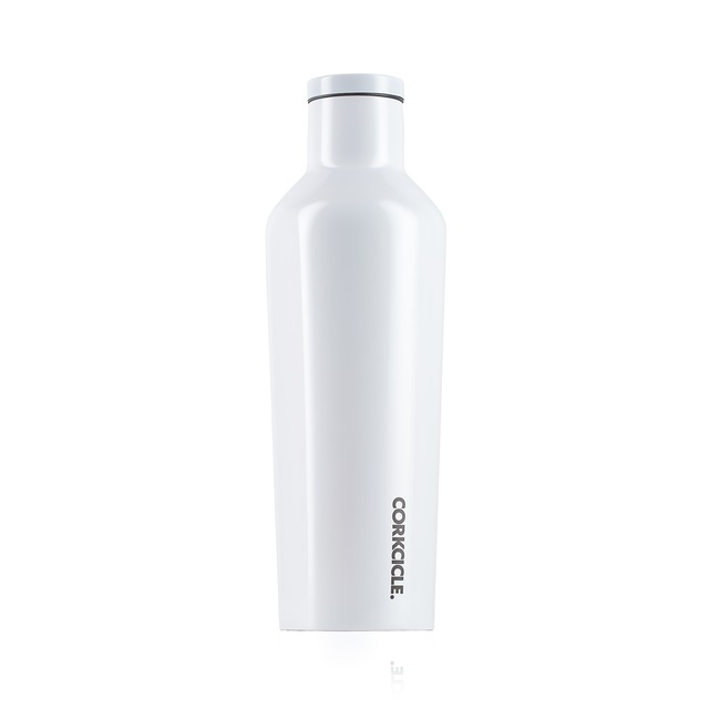 Corkcicle Canteen Modernist White