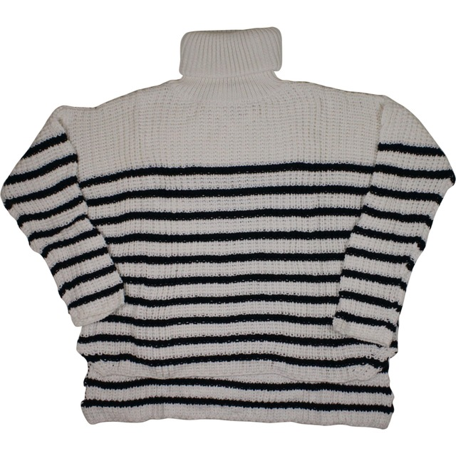 Erika Knit - Stripe/Off White