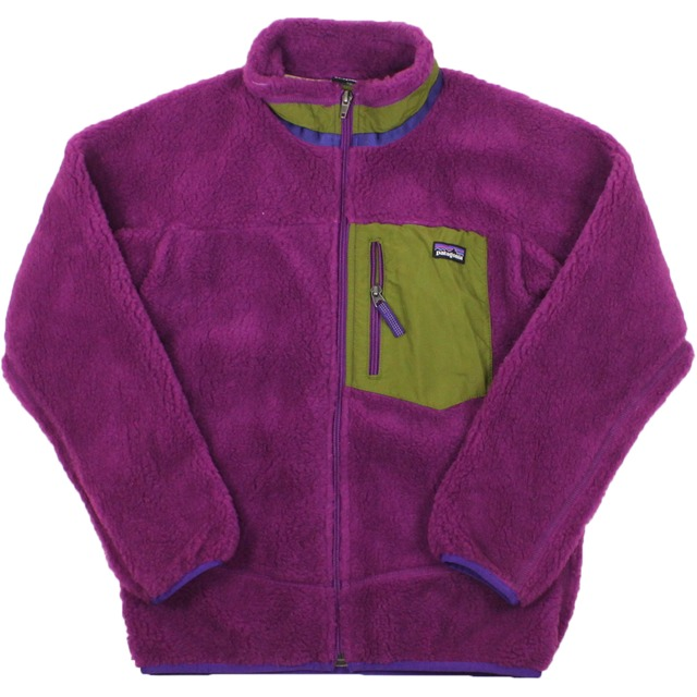 Patagonia Girls Retro-X Fleece Ikat Purple