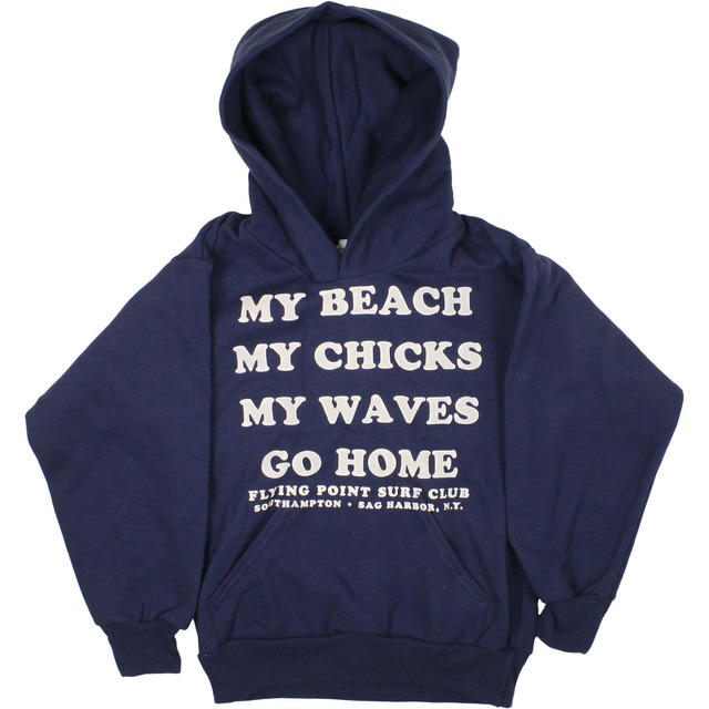 Flying Point Go Home Pullover Navy