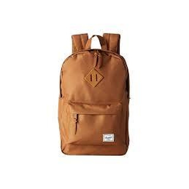 Herschel Heritage Mid Volume Select Canvas Caramel