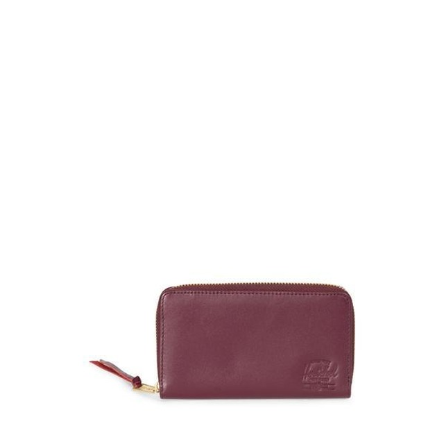 Herschel Thomas B Leather- Wine