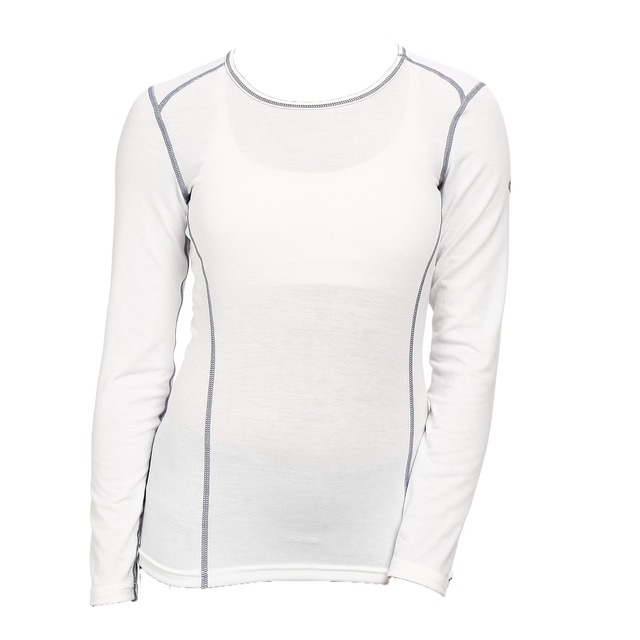 Hot Chillys W MTF4000 Scoopneck White