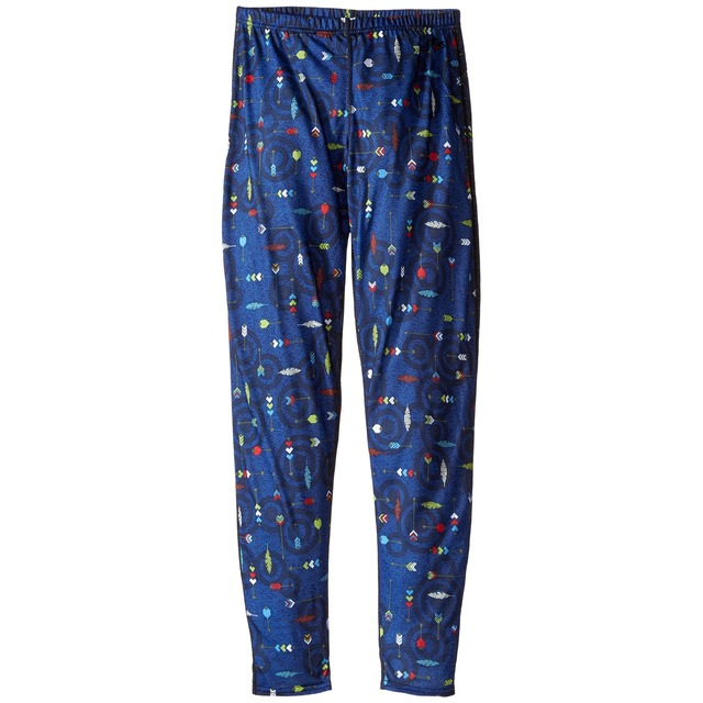 Hot Chillys Youth Midweight Print Flying Arrows/ Black