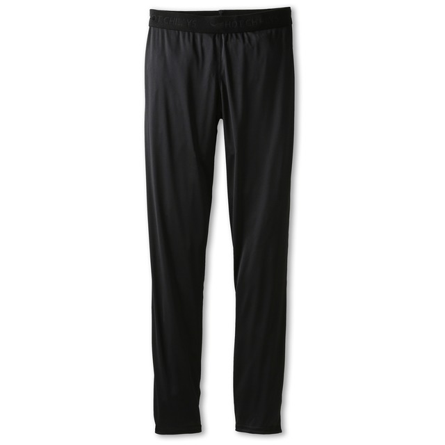 Hot Chillys Youth Peachskin Black