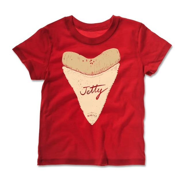Jetty Life Big Tooth T-Shirt Red
