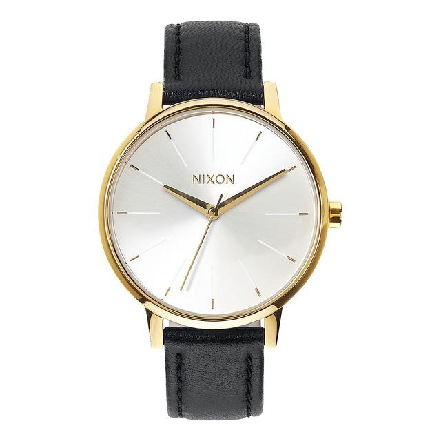 Nixon Kensington Leather Gold/White/Black