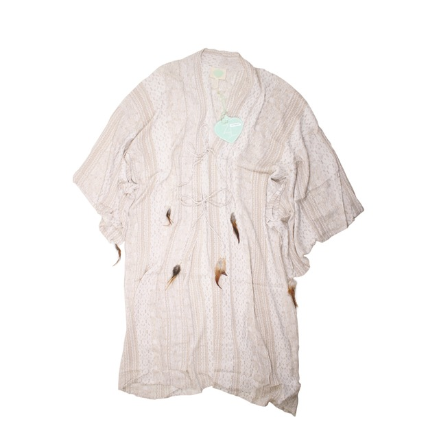 Z and L Kimono Off White