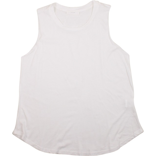 Lush Knit Muscle Tee Off White