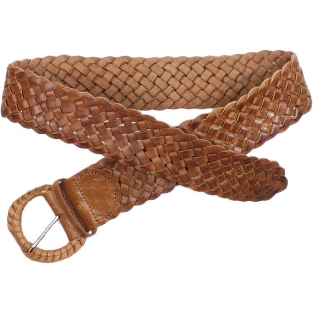 Z and L Leather Braided Natural