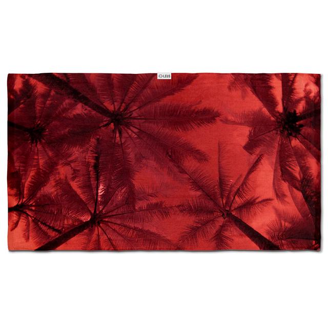 Leus Towels Print Infrared Palms