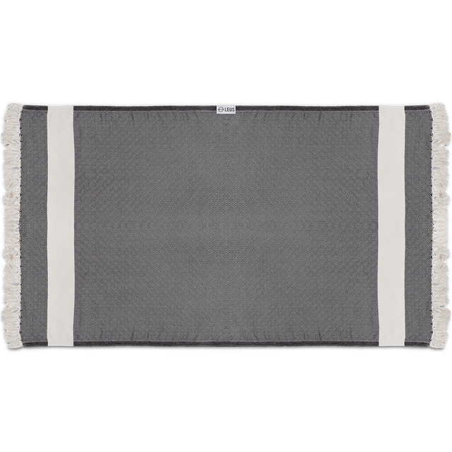 Leus Towels Turkish Diamond- Black