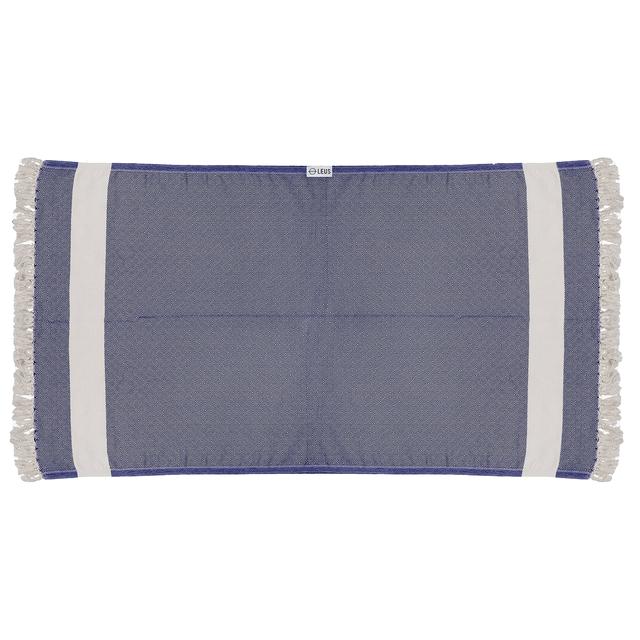 Leus Towels Turkish Diamond- Blue