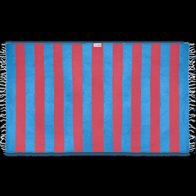 Leus Towels Turkish Stripes- Blue