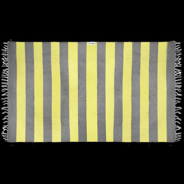 Leus Towels Turkish Stripes- Yellow