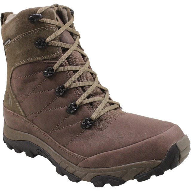 The North Face M Chilkat Leather Demitasse Brown/Shroom Brown