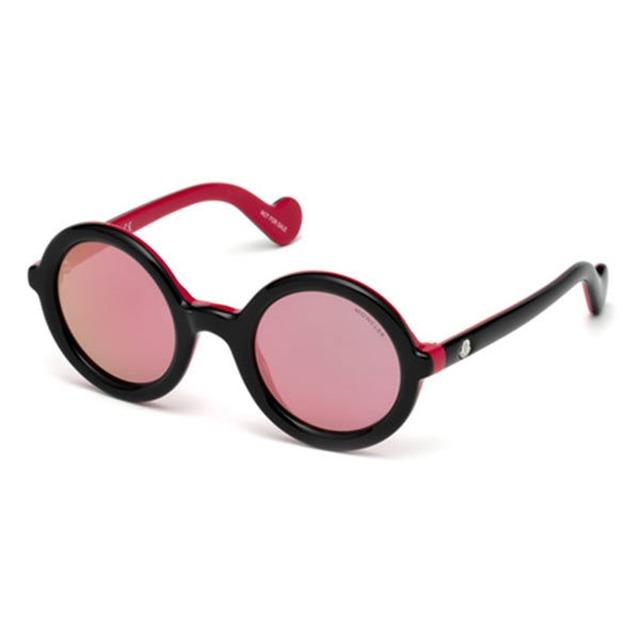 Moncler ML0005 Black/Pink Mirror