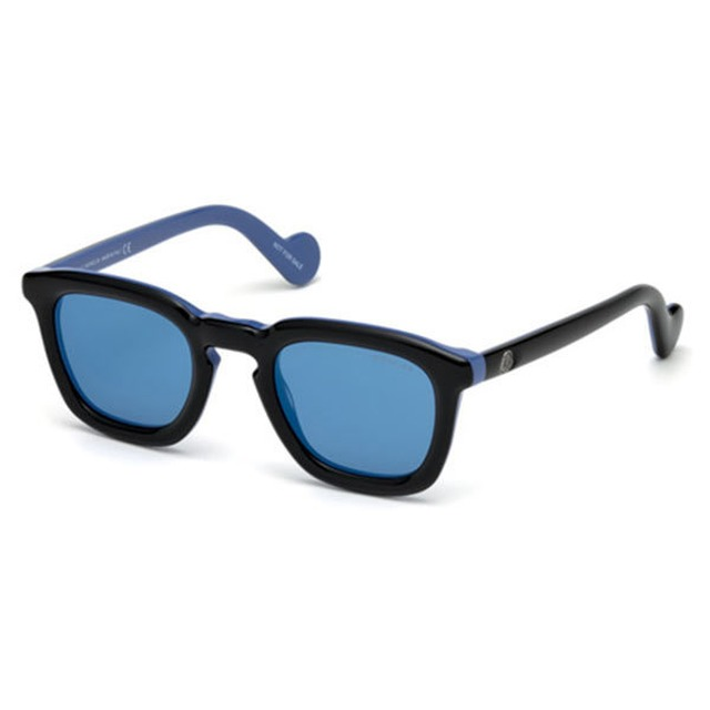 Moncler ML0006 Black/Blue Mirror