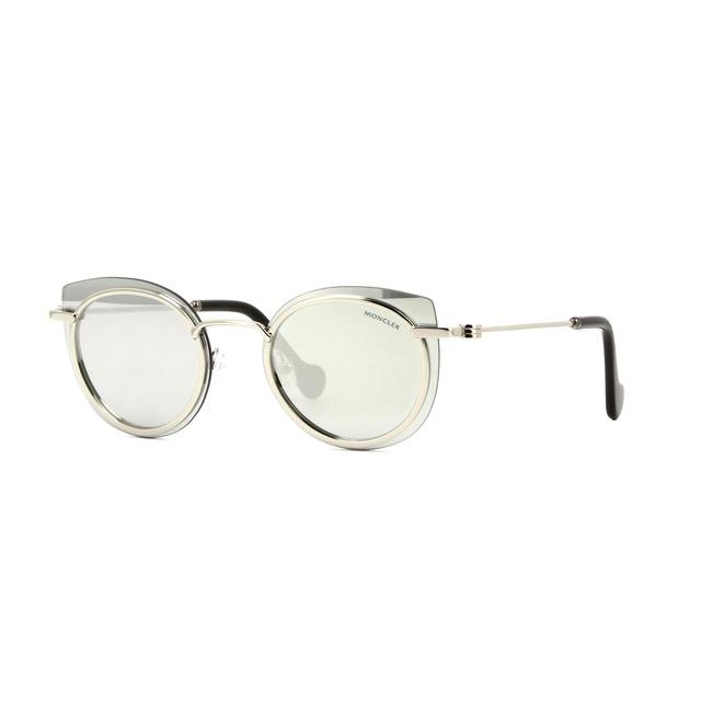 Moncler ML0017 Silver/ Mirror