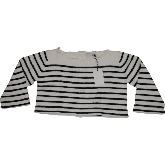 Montreal Knit - Stripe/Off White
