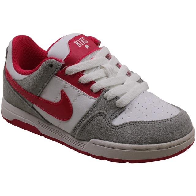 Nike Morgan 2 JR Metallic Platinum/Cherry/White
