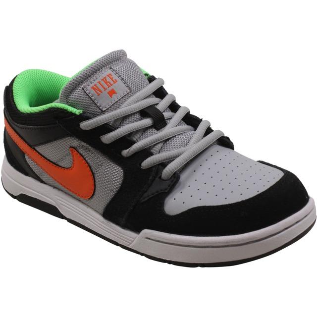 Nike Morgan 3 JR Black/Electro Orange/Wolf Grey