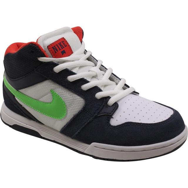 Nike Morgan Mid 3 JR Obsidian/Poison/Green-White