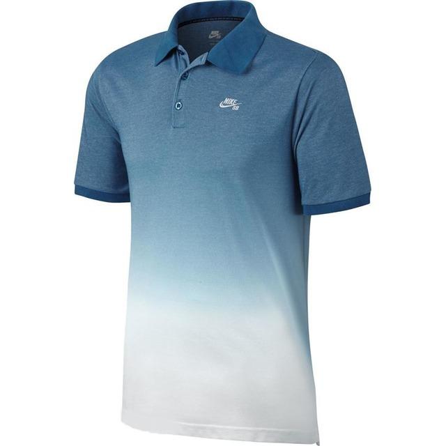 Nike Dry Industrial Blue/ White/White