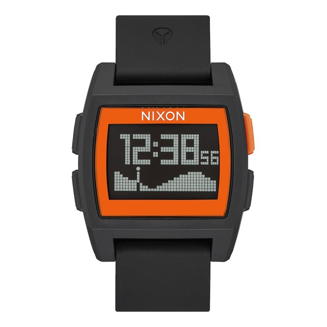 Nixon Base Tide Black/ Orange JJF