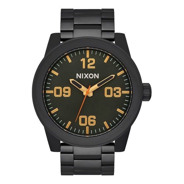 Nixon Corporal SS All Black/ Surplus