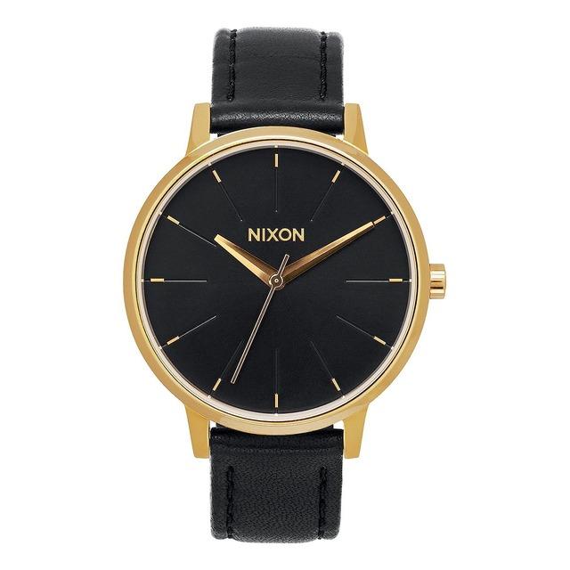 Nixon Kensington Leather Gold/ Black