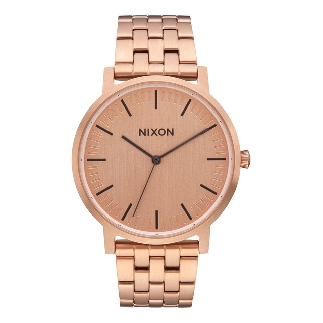 Nixon Porter All Rose Gold