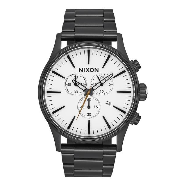 Nixon Sentry Chrono All Black/White