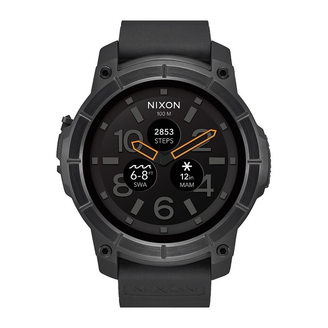 Nixon The Mission All Black