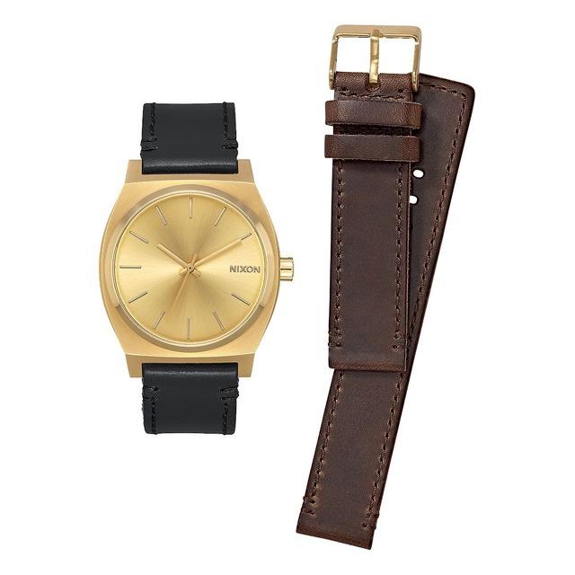 Nixon Time Teller Pack All Gold/Black/Brown