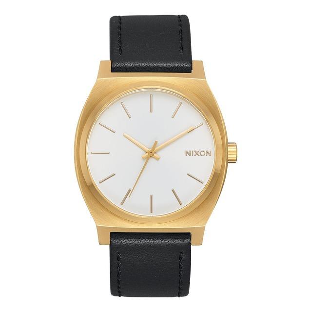 Nixon Time Teller Gold/ White Sunray Black