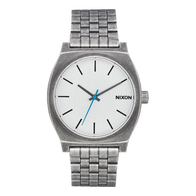 Nixon Time Teller Silver/ Antique