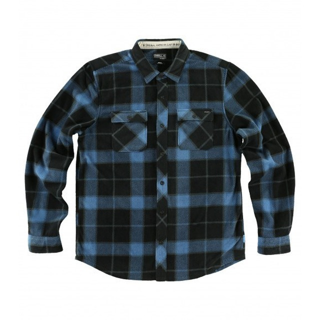Glacier Big Plaid - Black